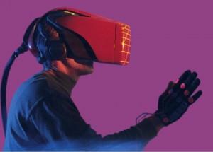 VR-headset (HMD) uit de vorige eeuw