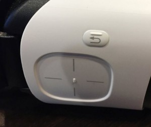 Gear VR v2 trackpad