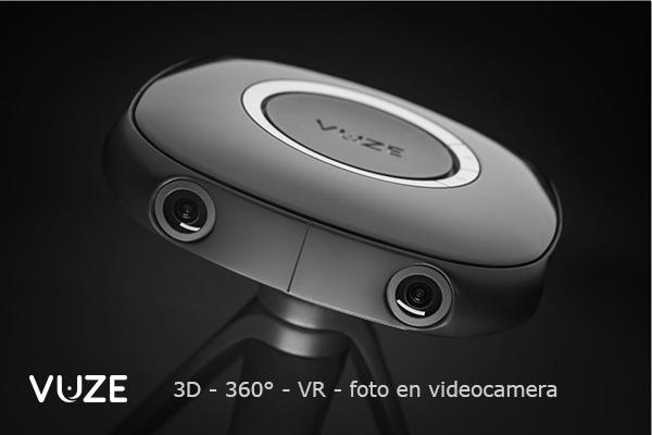 VUZE 3D 360 VR foto- en filmcamera