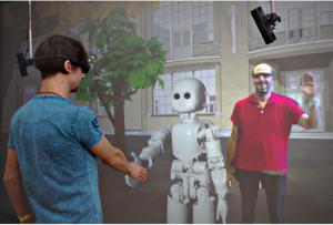 VR Neurorobotics Lab impression