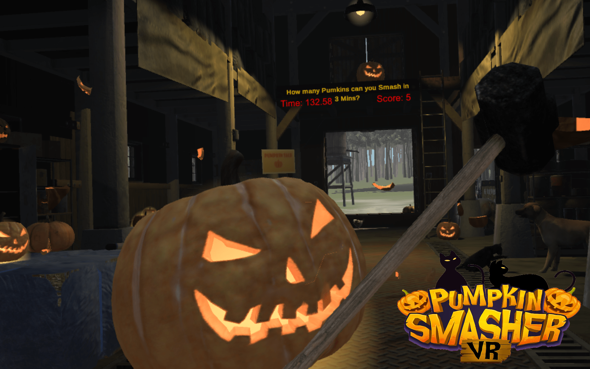 screenshot Pumpkin Smasher